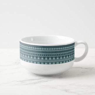 Aztec Pattern soup mug