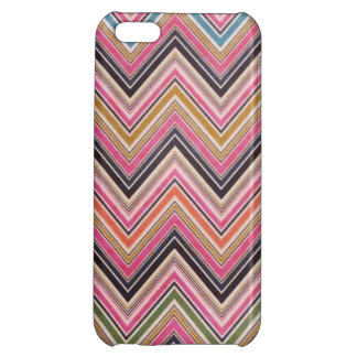 Aztec Pink Red Green Chevron Girly Pattern Case For iPhone 5C