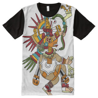AZTEC QUETZALCOALTL All-Over PRINT T-Shirt