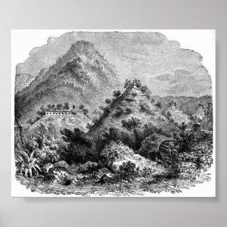Aztec Ruins Print