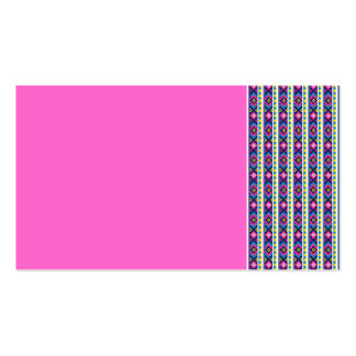 AZTEC   stripes BACKGROUND PATTERNS WALLPAPER TEMP Pack Of Standard Business Cards