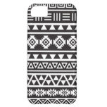 Aztec Style (large) Pattern - Monochrome iPhone 5C Covers