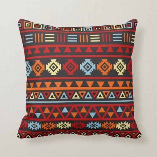 Aztec Style (Large) Ptn - Orange Yellow Red