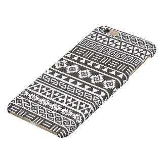 Aztec Style Pattern - Monochrome iPhone 6 Plus Case