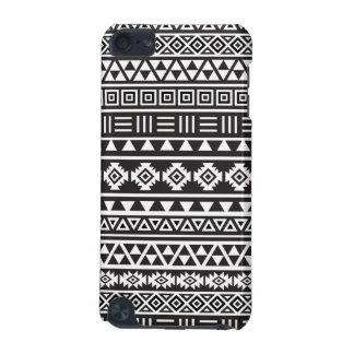 Aztec Style Pattern - Monochrome iPod Touch 5G Case