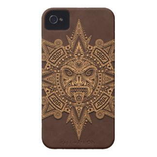Aztec Sun Mask Brown Blackberry Bold Cases