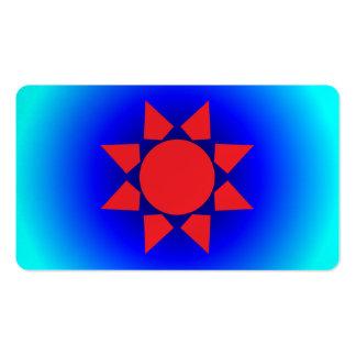 Aztec Sun Pack Of Standard Business Cards