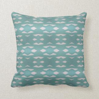 Aztec Teal Cushion