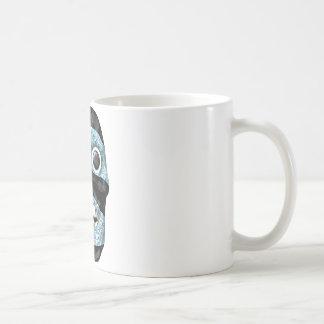 Aztec Tezcatlipoca Mask Basic White Mug