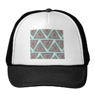 Aztec Triangles Hat