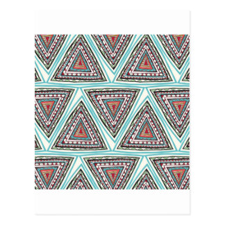 Aztec Triangles Postcards