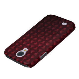 Aztec Triangles x Red Galaxy S4 Case
