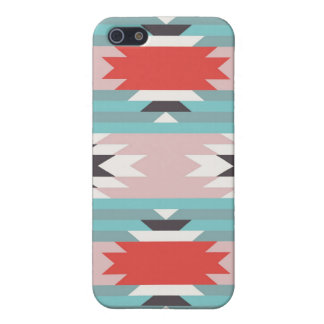 Aztec Tribal Pattern Native American Prints iPhone 5 Cases