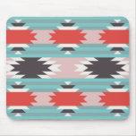 Aztec Tribal Pattern Native American Prints Mouse Pad