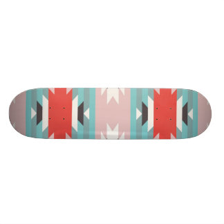 Aztec Tribal Pattern Native American Prints Skateboard