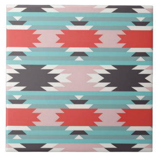 Aztec Tribal Pattern Native American Prints Tile