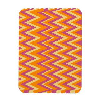 Aztec Tribal ZigZag Rectangle Magnets