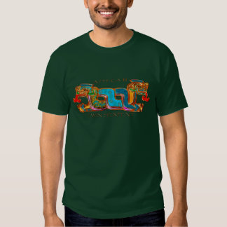 AZTEC ~ Twin Serpents Tshirt