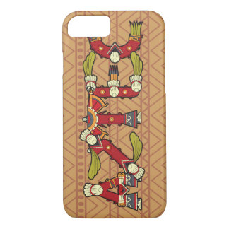 Aztec typographic Patterned iPhone 7 case