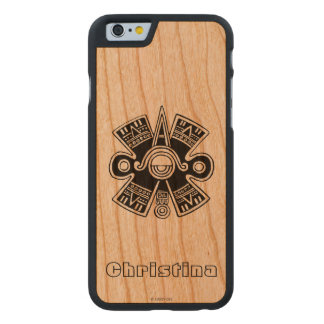 Aztec Universe Carved Cherry iPhone 6 Case