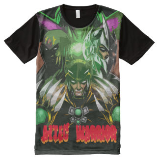 AZTEC WARRIOR All-Over PRINT T-Shirt