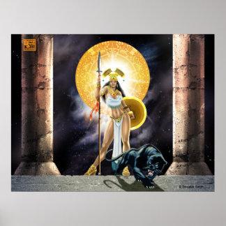 Aztec Warrior Princess Poster