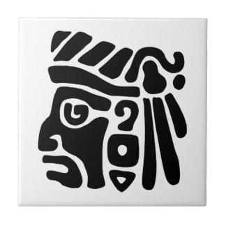 Aztec Warrior Tile
