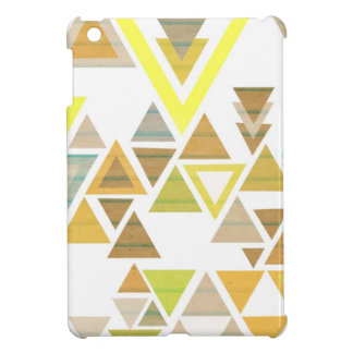 Aztec Yellow & Brown iPad Mini Cover