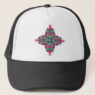 Aztez Pattern Design Trucker Hat