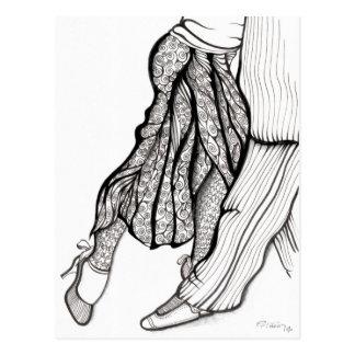 Azucar Pimienta y Sal - ArTgentina Tango Postcard