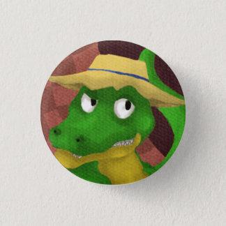 Azuh alligator 3 cm round badge