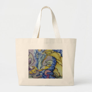 Azul Jumbo Tote Bag