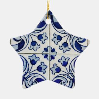 Azulejo Christmas Ornament