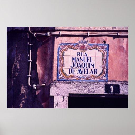 Azulejo de Portugal Poster