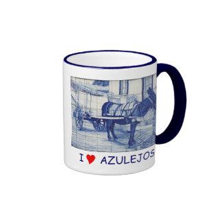 Azulejo mural mug