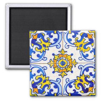 Azulejo Panel Tiles Square Magnet
