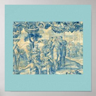 Azulejo Print