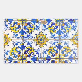 Azulejos Ceramic tiles Rectangular Sticker