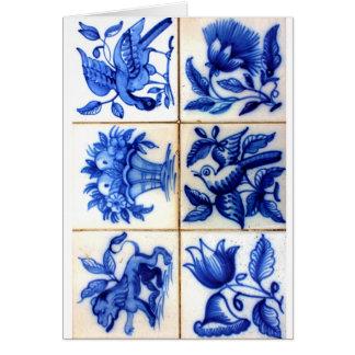 Azulejos Greeting Card