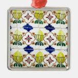 Azulejos, Portuguese Tiles Ornamentos Para Arvore De Natal