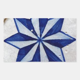 Azulejos Portuguese Tiles Autocolantes Retangulares