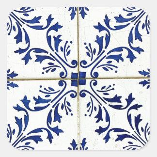 Azulejos Square Sticker