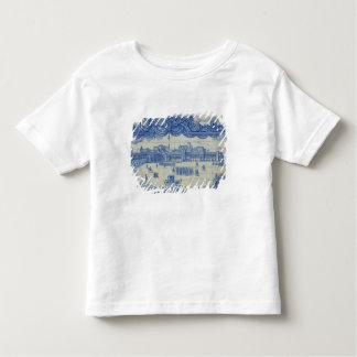 Azulejos tiles depicting the Praca do Comercio T-shirts