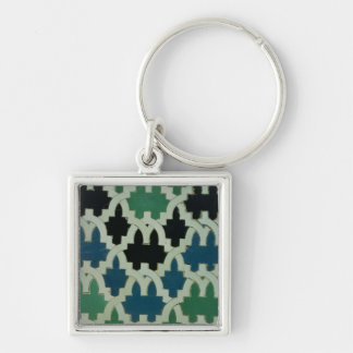 Azulejos tiles from the throne of the Sultans Key Chain