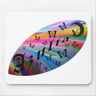 Azulia Butterfly Mouse Pad