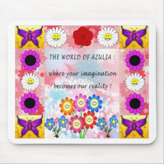 Azulia Patch Mouse Pad
