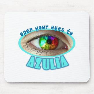 Azulia Rainbow Eye Mouse Pad