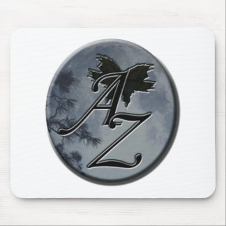 Azulia Stamp Mouse Pad