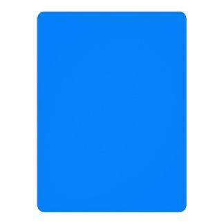 "Azur Classic Quality Colored 6.5"" X 8.75"" Invitation Card"