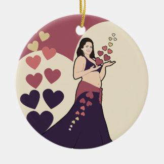 Azura Belly dancer Christmas Ornament